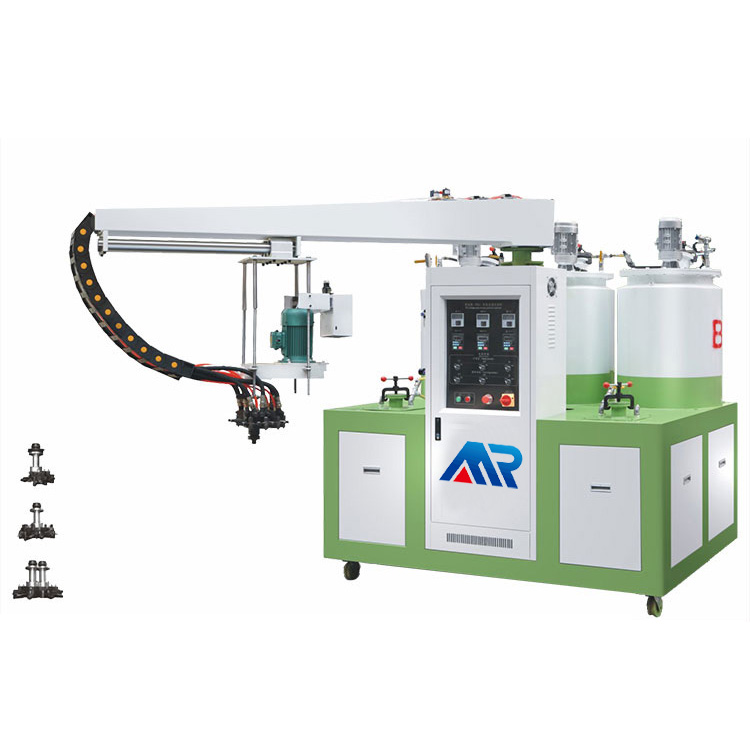 Two Color Two Density Pu Machine,Two-color foam molding machine,pu slipper making machine