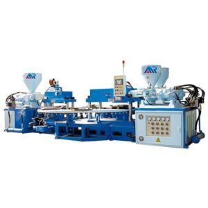 100T three color strap injection machine