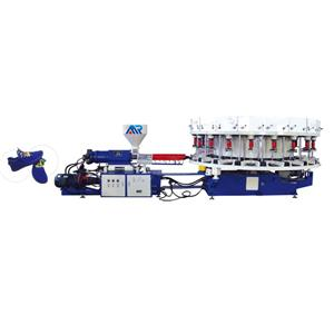 One color Leisure shoe injection machine