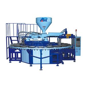 One color air blowing injection machine