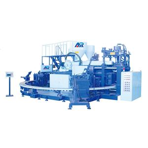 Three color PVC boot injection machine