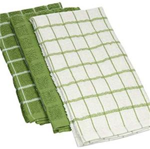 Cotton Terry Kitchen Dish Towels