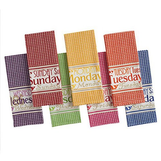Cotton Flat Woven Kitchen Dish Towels