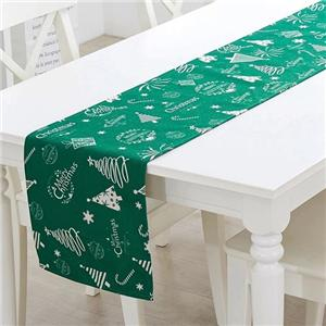 Solid Polyester Table Runner