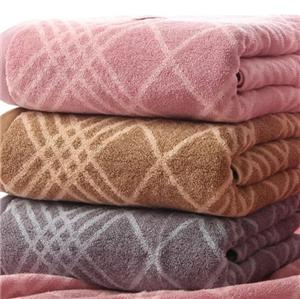 Cotton Jacquard Bath Towels