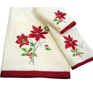 Cotton Embroidered Hand Towels