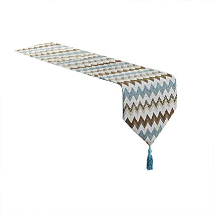 Chemin de table en polyester jacquard