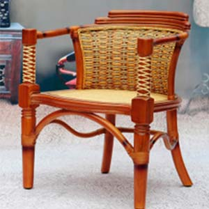 Solid wood armchairs