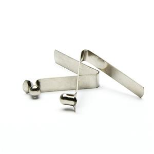 Spring Clips With Button For Tube Clamps Loaded