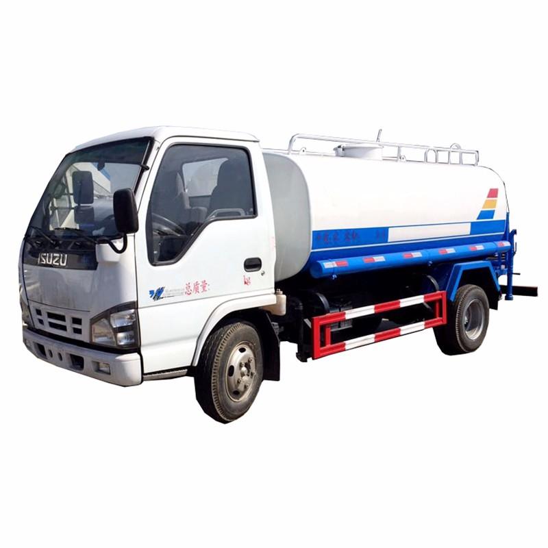 City Fresh Water Hauling Truck