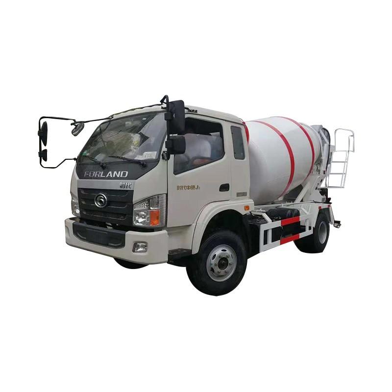 Camión mezclador de concreto de agitador de 5 m3
