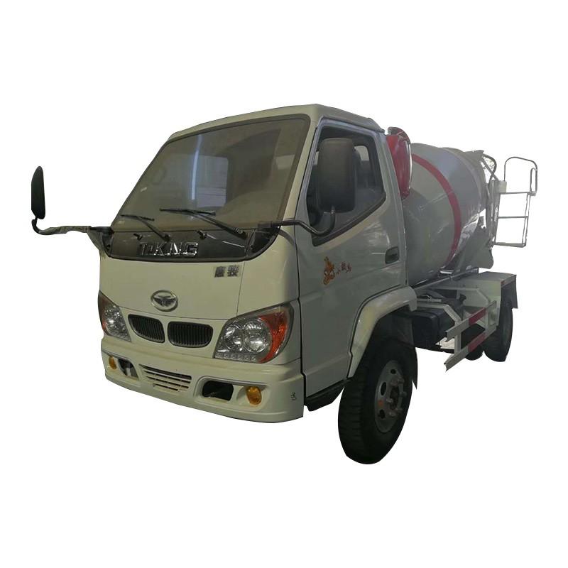 Camiones mezcladores de concreto 2.5CBM Camiones mezcladores de cemento