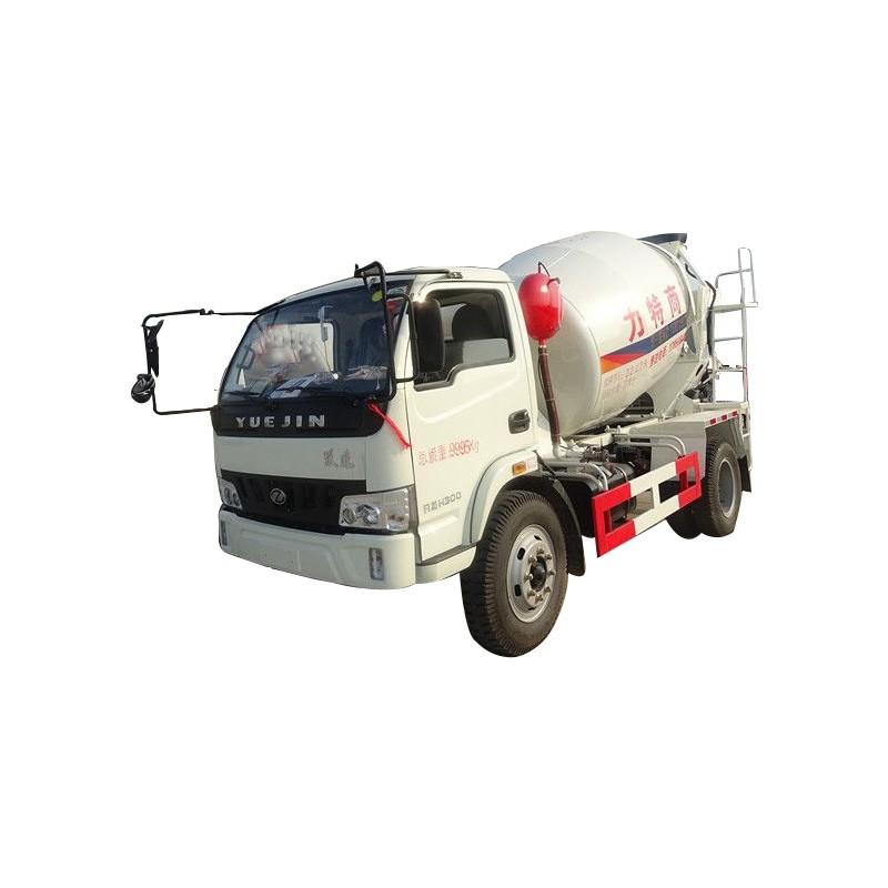 Camión mezclador de concreto pequeño
