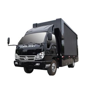 Outdoor P6 Led Advertising Truck