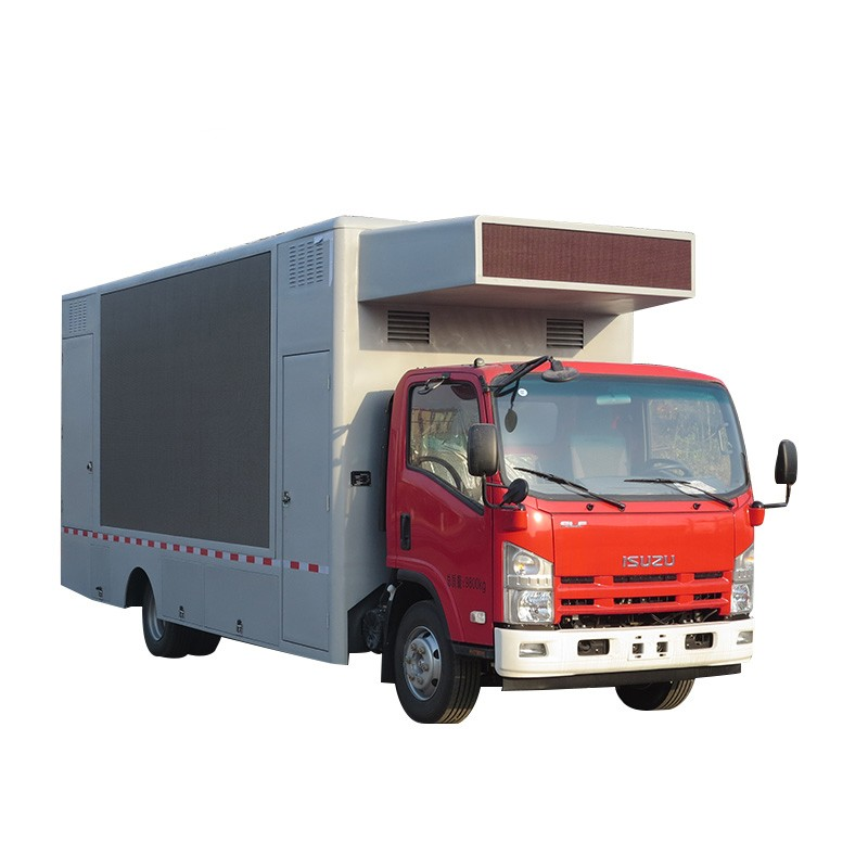 Full Color Screen Outdoor Led Advertising Truck