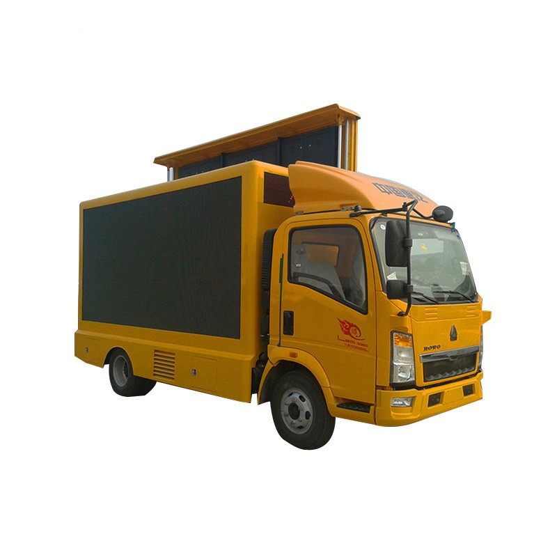 Screen Lift Led Mobile Advertising Vehicle