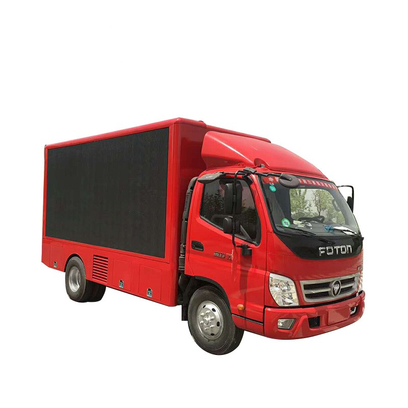 1 Sided Led Video Wall Truck