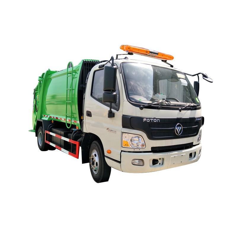Camión compactador de basura de recogida