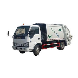 Vehículo de recolección de residuos sólidos