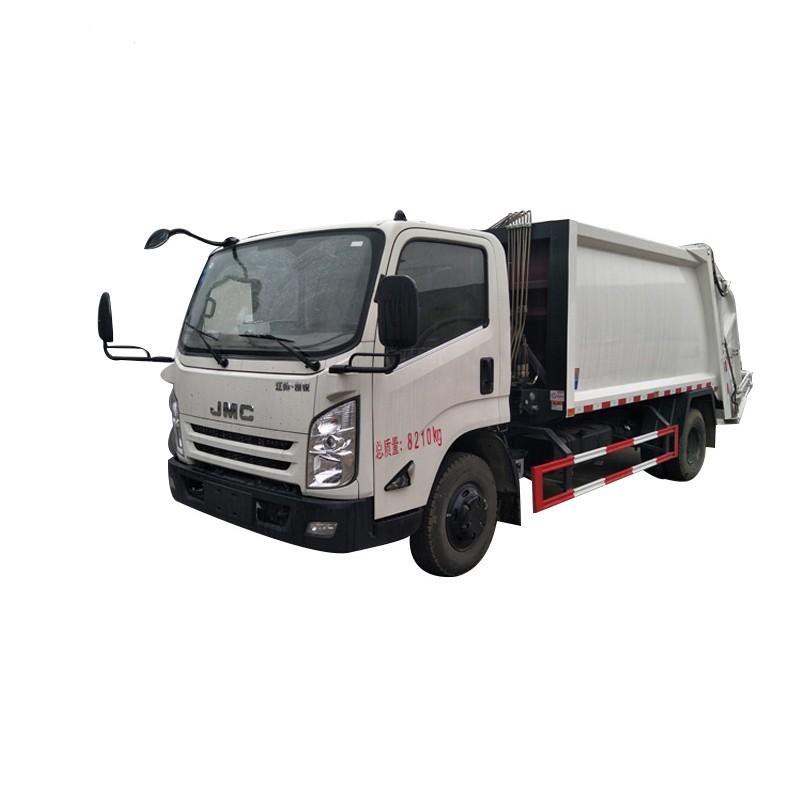 Vehículo de recogida de residuos compactador