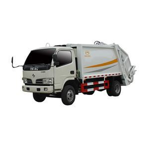 Camión de basura comprimido