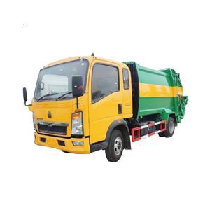 Camión de basura de compresión