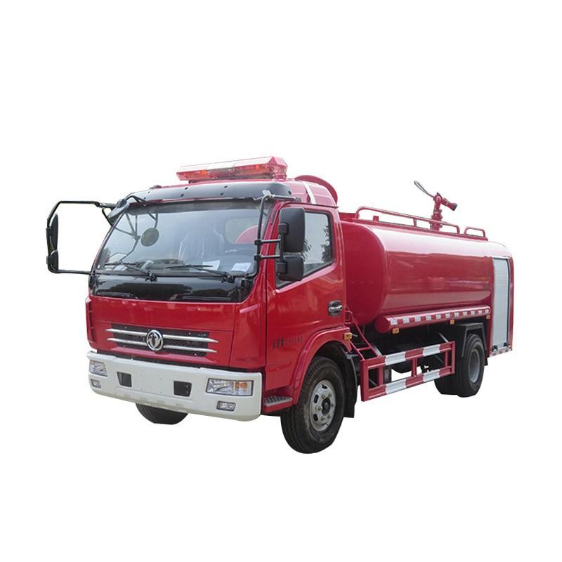 Camión de bomberos de agua contra incendios