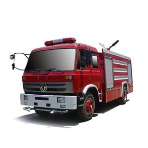 Camión de bomberos de espuma de agua