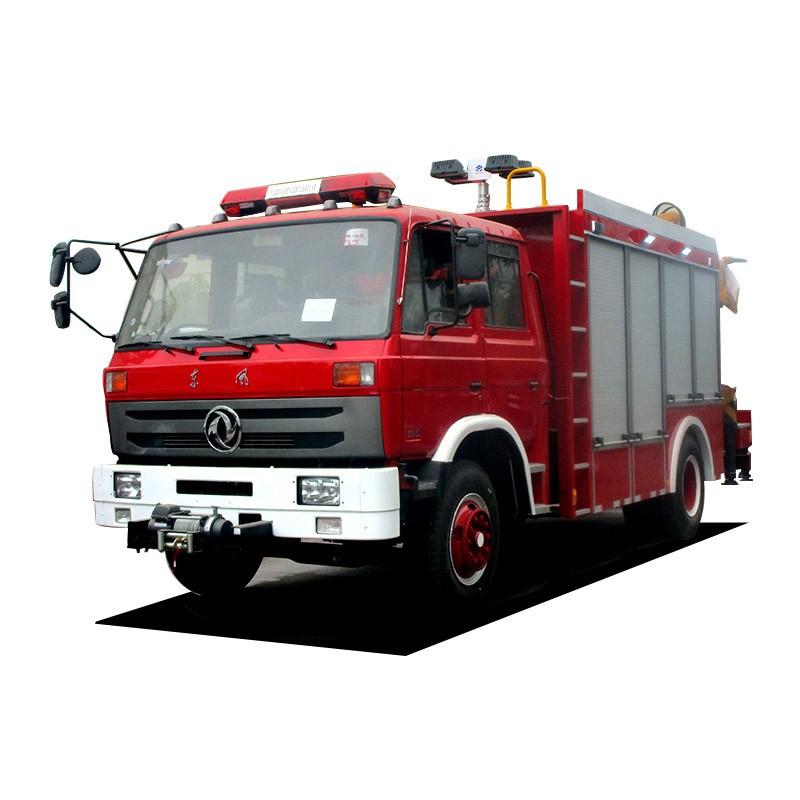 Camión de emergencia para bomberos y rescate