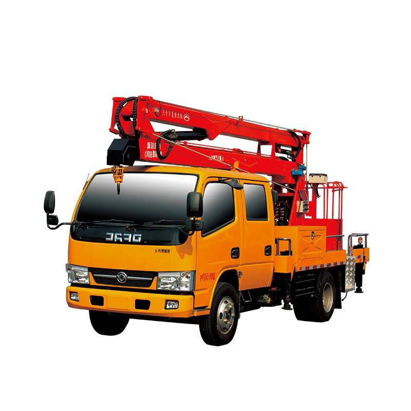 Camión de plataforma de trabajo aéreo 12m