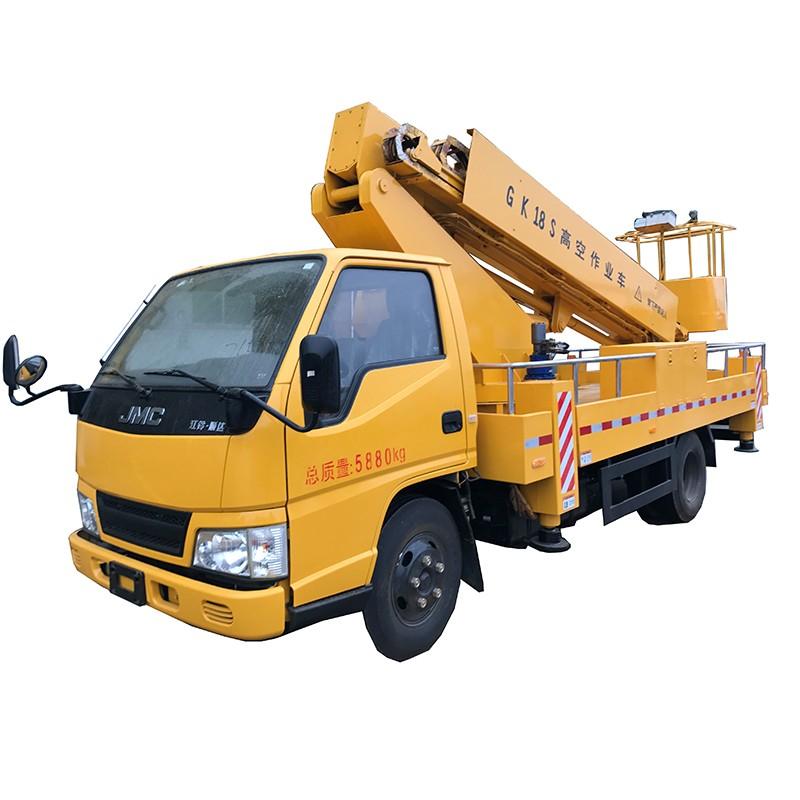 Camión hidráulico aéreo de 16 m de altura para camiones en venta