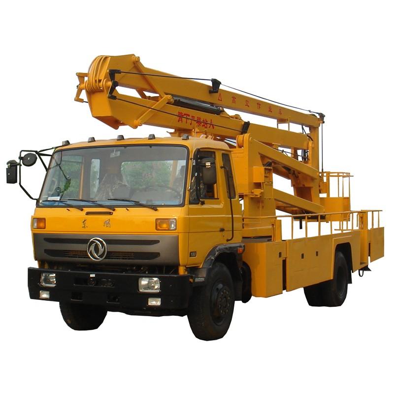 Camión articulado articulado Boom Camión