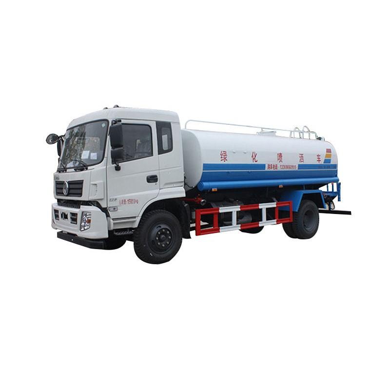 Water Sprinkler Tender Truck