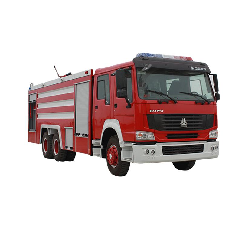 Camión de lucha contra incendios equipado con el mejor monitor de incendios