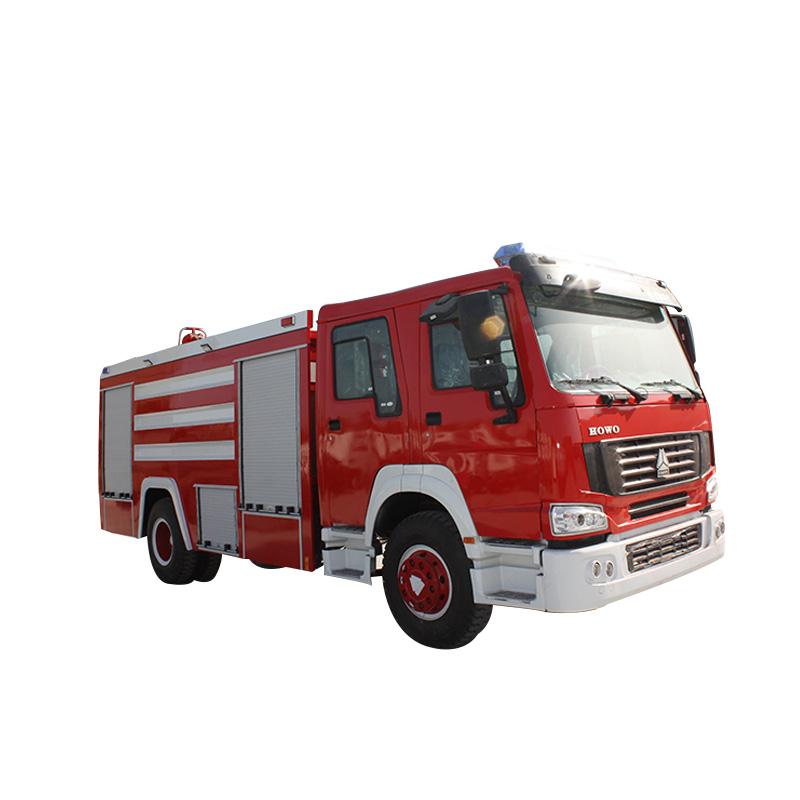 10 toneladas de camión de bomberos