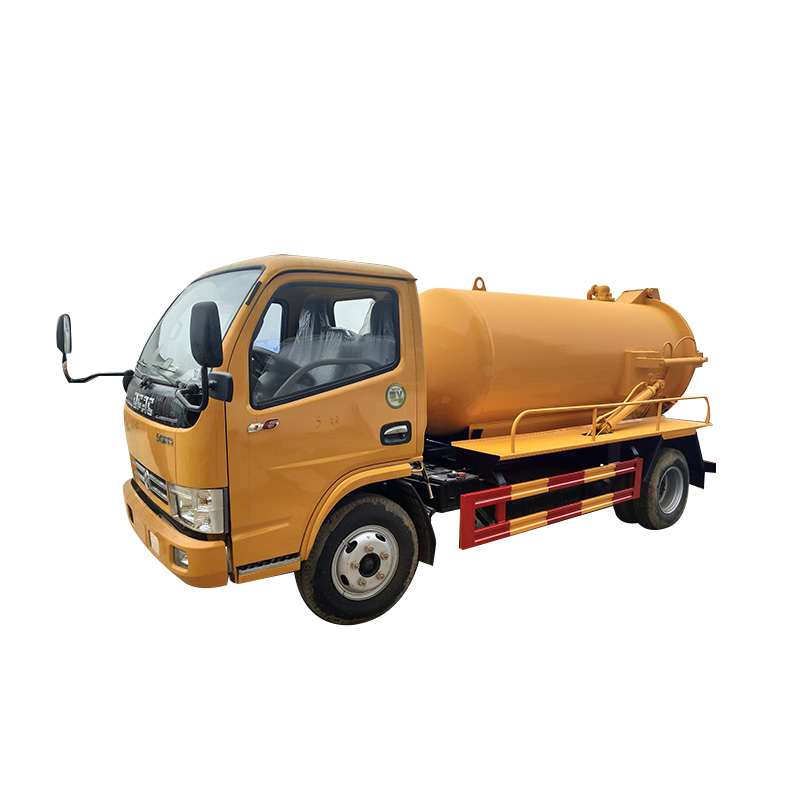 5000liters Vacuum Sewage Suction Truck