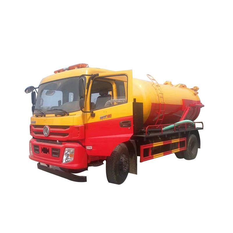 10cbm Suction Sewage Truck