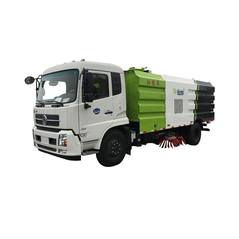 Vehículo de limpieza de calles de 10.5cbm