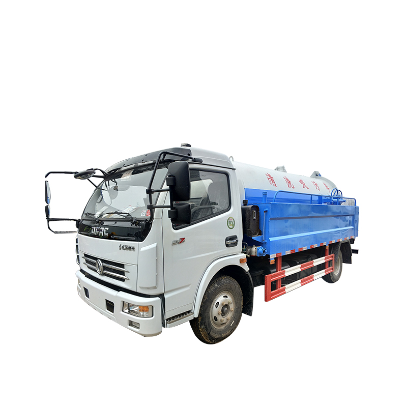 3cbm Sewage Suction Truck
