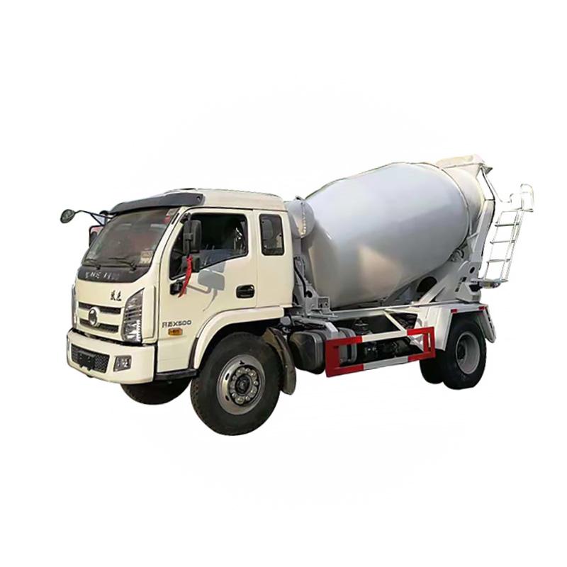 Camión del mezclador de cemento 6cbm