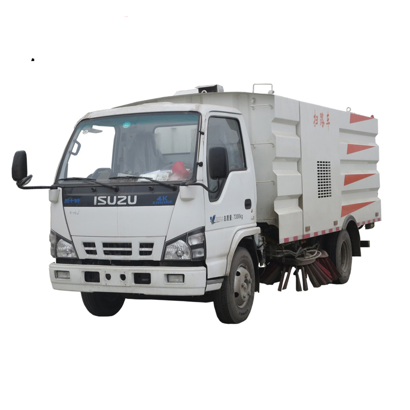 5.5cbm Road Sweeper Truck