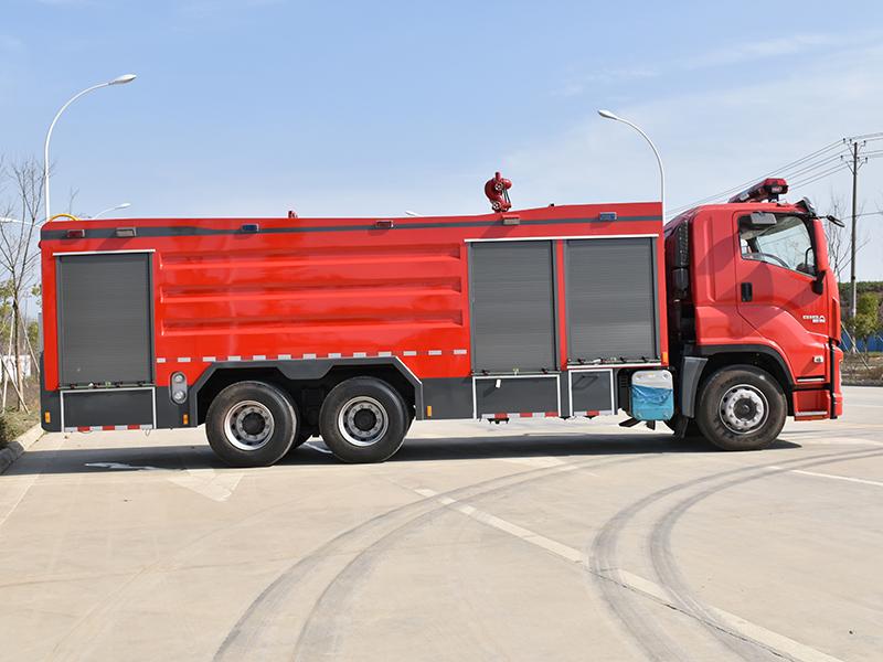 Dry Powder Fire Truck