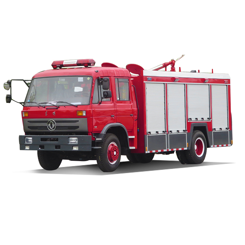 Euro 3 emission water and foam combined fire vehicle