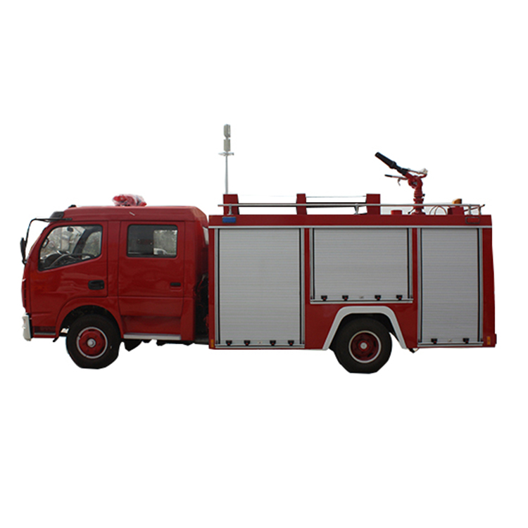 Dongfeng truck mounted 4m3 water fire truck