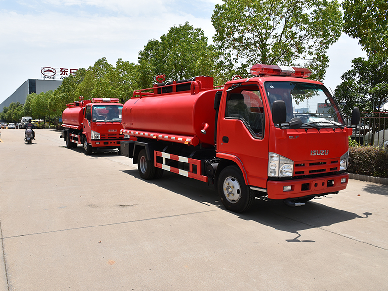 Fire tank truck