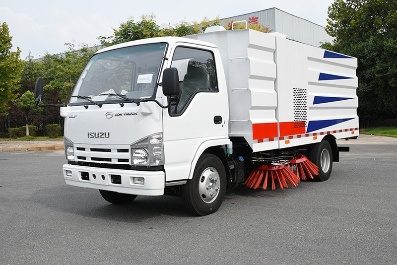 【Sep 15th,2020】To Dominica- 1 Unit ISUZU Sweeper Truck