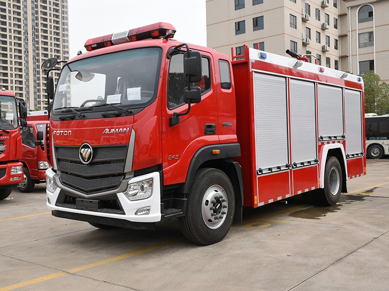 【Nov 15th,2020】To Dubai- 1 Unit FOTON Water Foam Fire Truck