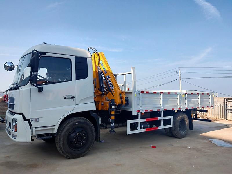 【Dec 17th,2020】To Uzbekistan- 1 Units Dongfeng Crane Truck
