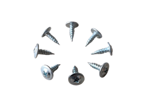 Carbon Steel Truss Head Yellow Zinc Tapping Screw