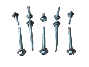 Self Tapping Metal Screws With Rubber Washer